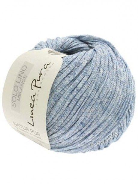 Solo Lino Melange - 108 Light Blue