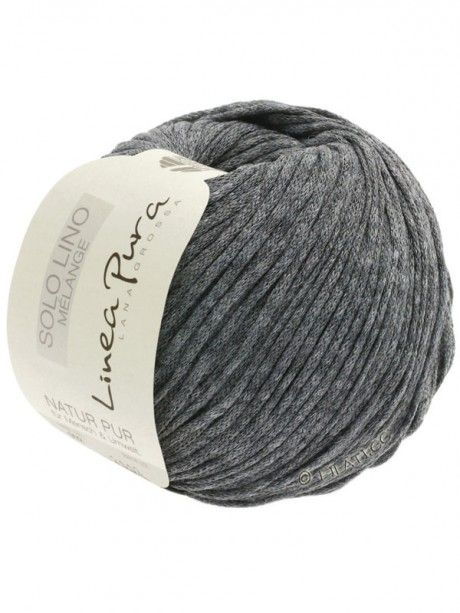 Solo Lino Melange - 111 Dark Grey