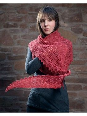 Pack shawl pattern - Skein Meadow