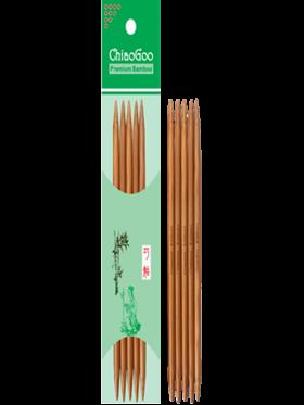 Chiaogoo - Agujas de doble punta 20 cms DPN bamboo