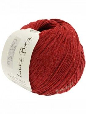 Solo Lino Melange - 116 Rouge