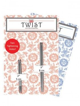 Chiaogoo - Twist SHORTIES Combo Packs Cable + Agujas