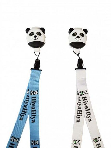 Hiya Hiya - Panda Li Click with lanyard