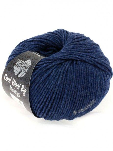 Cool Wool Big Uni Melange - Dark Blue 655