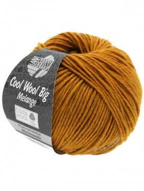 Cool Wool Big Uni Melange - Amber Mottled 343