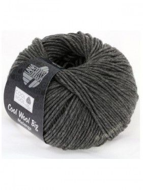 Cool Wool Big Uni Melange - Dark gray mottled 617