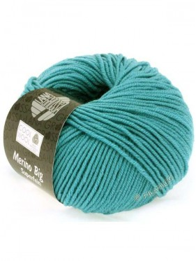 Cool Wool Big Uni Melange - Turquoise 910