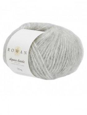 Rowan Alpaca Classic - Feather Grey Melange 102