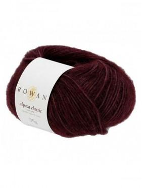 Rowan Alpaca Classic - Dark Burgundy 122