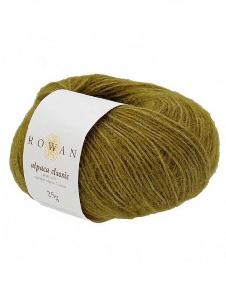 Rowan Alpaca Classic - Green Moss 111