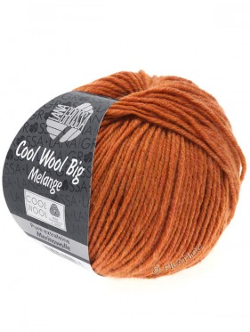 Cool Wool Big Uni Melange - 348 Terracota