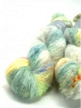 Qing Fibre Melted Baby Suri - Soft Grey
