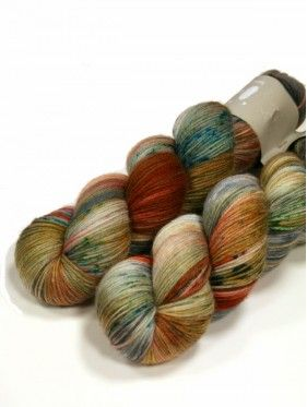 Qing Fibre Super Soft Sock - Kelp