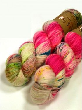 Qing Fibre Super Soft Sock - Flamingo