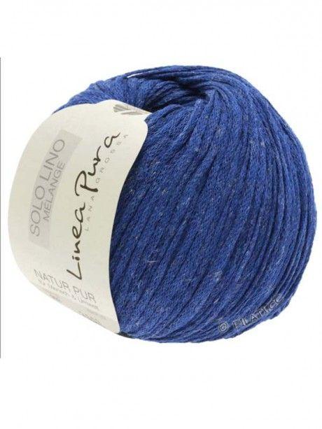 Solo Lino Melange - 120 Royal Blue
