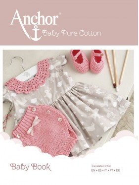 Anchor Baby Pure Cotton Baby Book