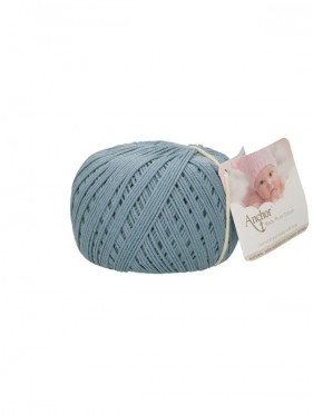 Anchor - Baby Pure Cotton 421 Mid blue