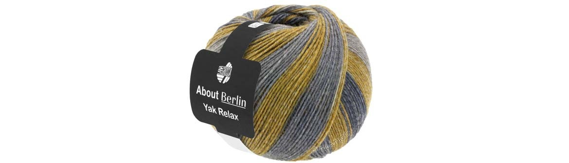 About Berlin Yak Relax - Sock yarn